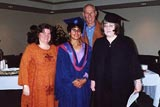 Sima and supervisor, Dr. Hedberg, Renee & Arnold. June 2002 convocation, SFU.