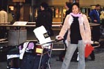 Sima's sister arrived in Canada, January 2003.